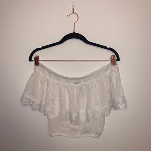 NEW LF Off the Shoulder Crop Top Size XS (6)